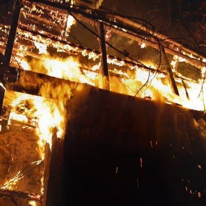 Zásah č. 51/2019 - požár chaty