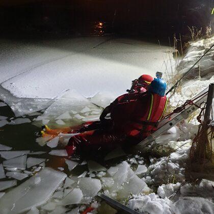 Výcvik na ledu - 11. 2. 2021