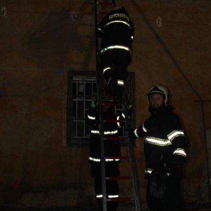 Nácvik evakuace pomocí nastavovacích žebříků - 1. 2. 2018