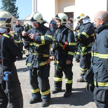 Školení nositelů dýchací techniky - 7. 4. 2018