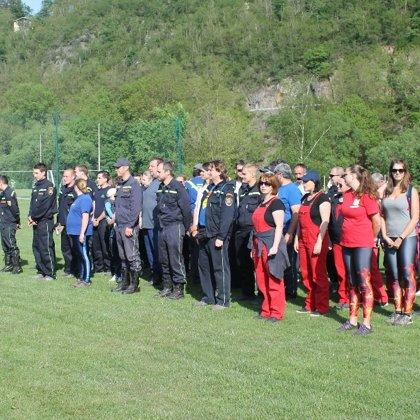 Okrskové kolo soutěže v požárním sportu - 5. 5. 2018