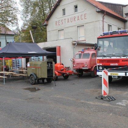 Den otevřených vrat hasičárny v Pikovicích - 27. 10. 2018